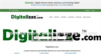 Digitalizze.com - Digital interest media, directory, and all things digital